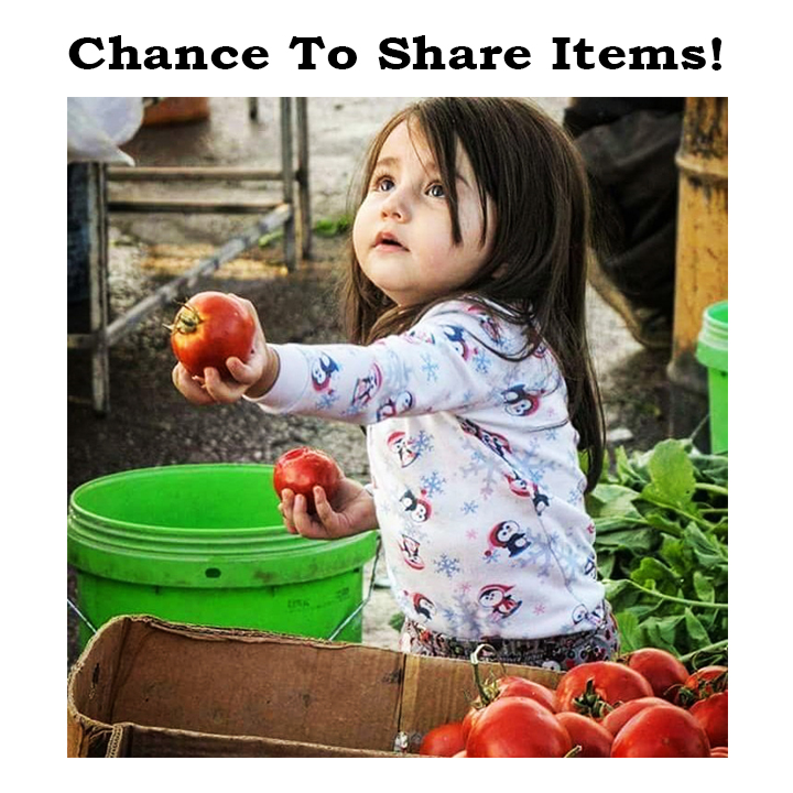 change to share items free