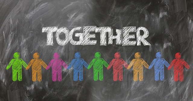 connect with people together